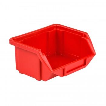 Pojemnik Kuweta Organizer Czerwony 110 x 95 x 50 mm