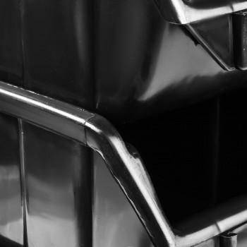 Pojemnik Kuweta Organizer Czarny 170 x 115 x 75 mm