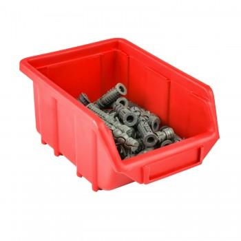 Pojemnik Kuweta Organizer Czerwony 170 x 115 x 75 mm