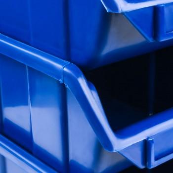 Pojemnik Kuweta Organizer Niebieski 170 x 115 x 75 mm