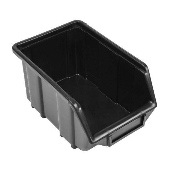 Pojemnik Kuweta Organizer Czarny 245 x 160 x 126 mm