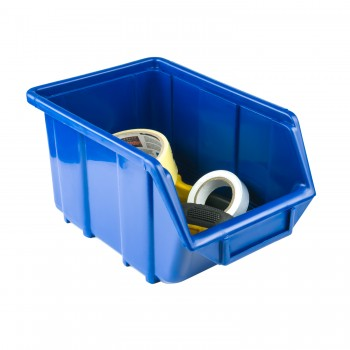 Pojemnik Kuweta Organizer Niebieski 245 x 160 x 126 mm