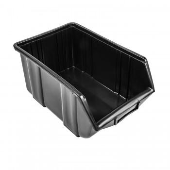Pojemnik Kuweta Organizer Czarny 345 x 225 x 165 mm