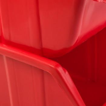 Pojemnik Kuweta Organizer Czerwony 345 x 225 x 165 mm