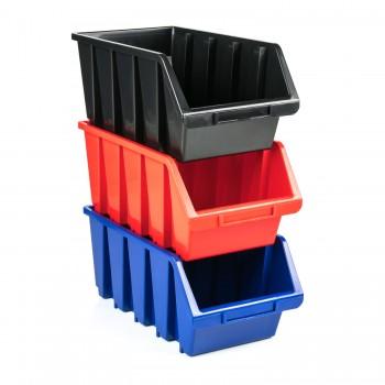 Pojemnik Kuweta Organizer Czarny 115x115x75 mm