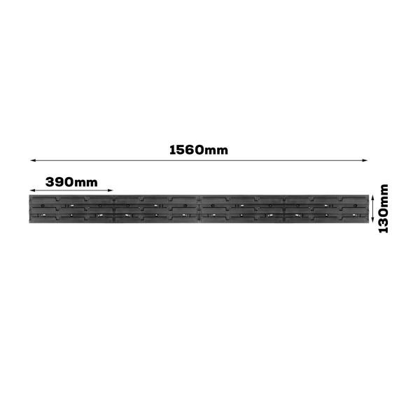 Tablica warsztatowa narzędziowa 1560 x 130 mm