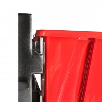Tablica warsztatowa narzędziowa 780 x 130 mm + 18 kuwet