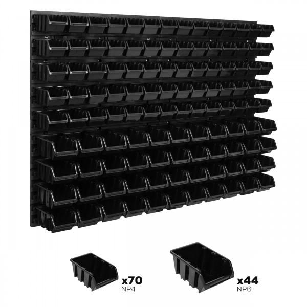Tablica warsztatowa narzędziowa 1152 x 780 mm + 114 kuwet