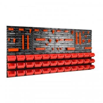 Tablica warsztatowa narzędziowa 160 x 80 cm + 36 kuwet