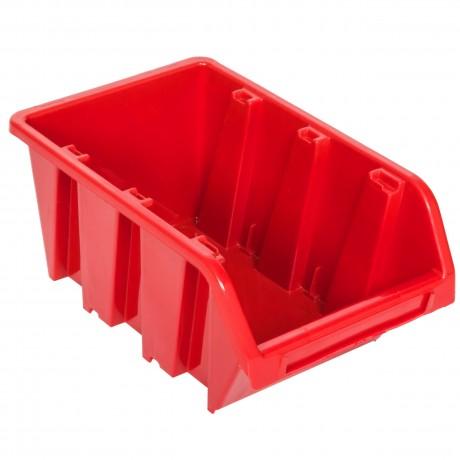 Kuweta pojemnik magazyn warsztat garaż 80x115x60 mm Czerwony