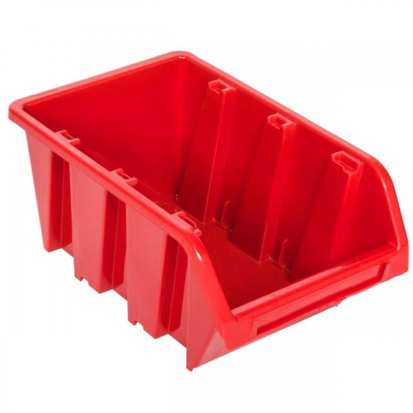 Kuweta pojemnik magazyn warsztat garaż 120x195x90 mm Czerwony