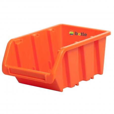 Kuweta pojemnik magazyn warsztat garaż 160x230x120 mm Pomarańczowy