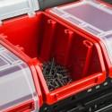 Pojemnik z pokrywą kuweta magazynowa 120x195x90 czerwony