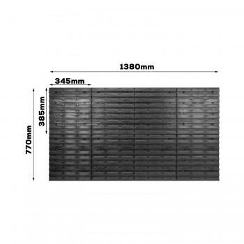 Tablica warsztatowa narzędziowa 140x38,5 cm + uchwyty
