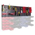 Tablica warsztatowa narzędziowa 105x38,5 cm + uchwyty